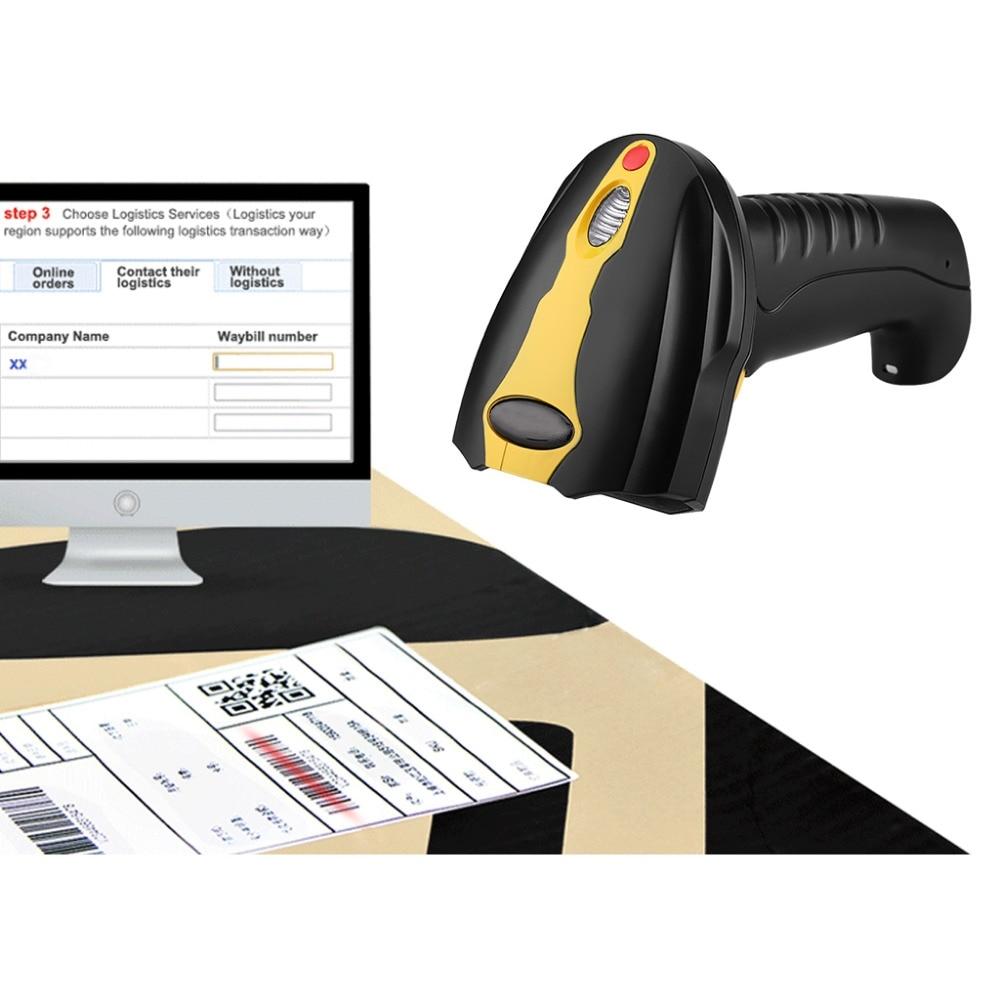 Handheld pos terminal barcode scanner reader qr code wireless barcode scanner ...