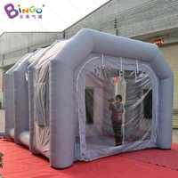 4X4X3 meters inflatable small spray booth / inflatable small paint booth / inflatable spray paint booth toy tents