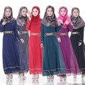 O novo muçulmano vestes exportados para o oriente médio saudita vestido de moda feminina robes