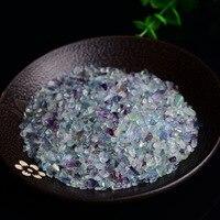 1000g Natural Colorful Fluorite Gravels Rock Crystal Quartz Mineral Specimen Home Decoration Stones Natural Stones and Minerals
