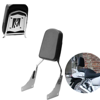 FRAME Motorcycle Backrest Sissy Bar Leather Pad for Honda Shadow ACE 1100