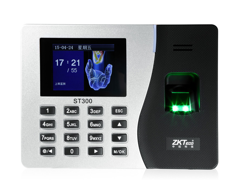 ST300 Fingerprint time attendance time recorder employee attendance system time clock in stock guard tour system patrol system time cotnroller v4 card reader 125khz time recorder in stock free shipping