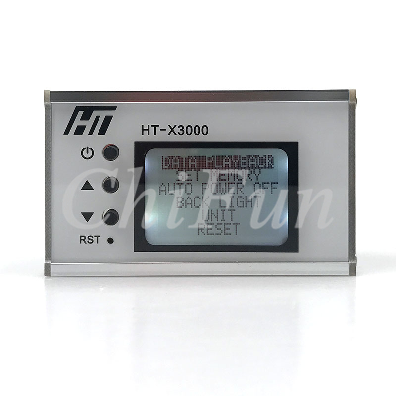 English version Rechargeable LCD WIFI connect Initial velocity shooting chronograh range velometer 120sets of data shutdown
