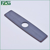 FLG Free Shipping Brush Nickel Oil Rubbed Bronze Bathroom Or Kitchen Single Hole Mixer Tap Cover