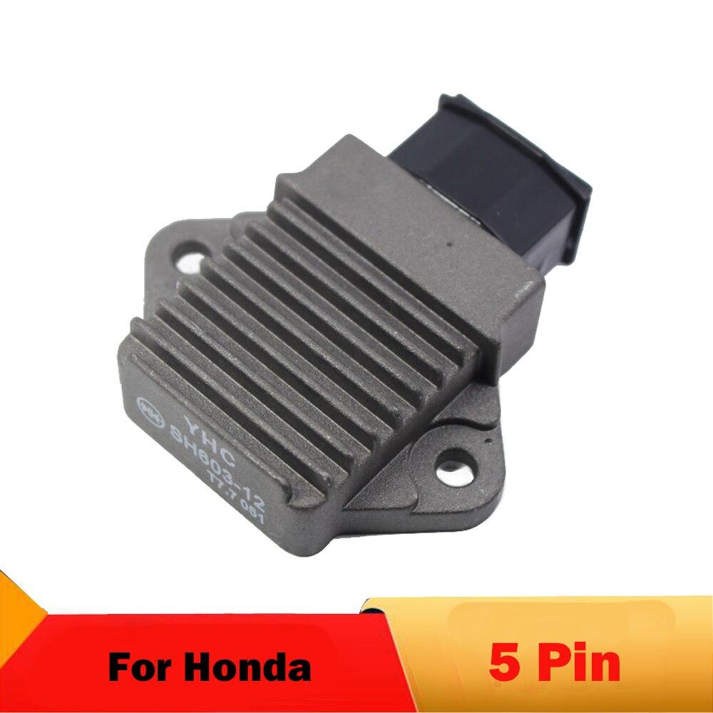 Motorcycle Voltage Rectifier For Honda CB250 Two Fifty CB-1 CB400 SF CB500 CBR250 MC17 MC19 MC22 PC800 VT250 Magna250 VFR750