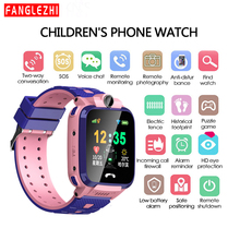 2019 New Smartwatch IP68 Waterproof Smart Watch For Kids Phone With SIM Card Position Touch Screen SOS Call  Standby king