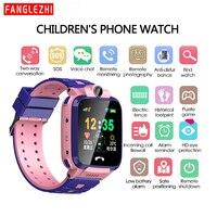 Tüketici Elektroniği'ten Akıllı Saatler'de 2019 Yeni Smartwatch IP68 Su Geçirmez akıllı saat Seyretmek Telefon Ile SIM Kart Pozisyonu Dokunmatik Ekran SOS Çağrı Bekleme kral