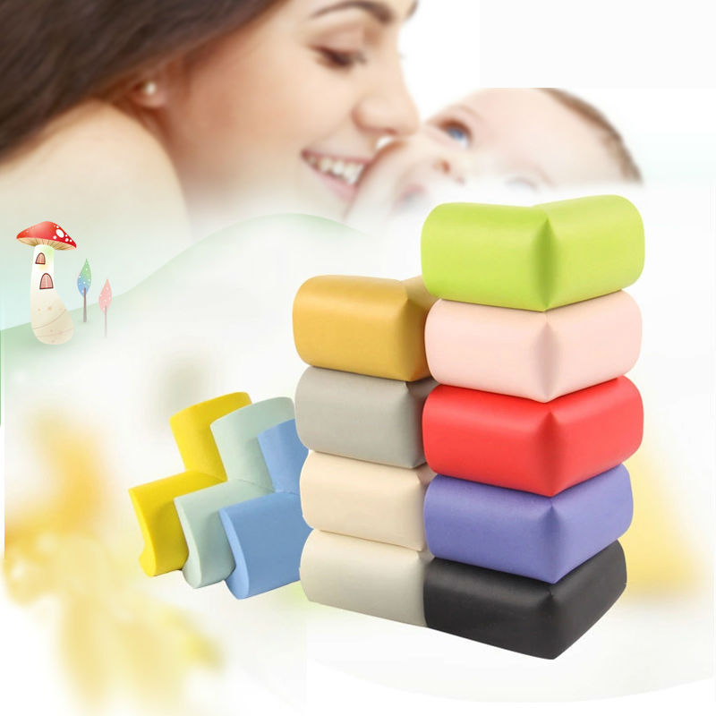10pcs/lot Protection Of Children Thick Design PUNBR Material Baby Safety 10 Colors Free Collocation Protection On The Corner