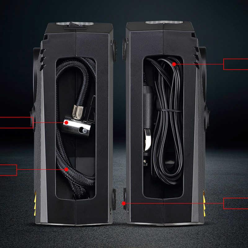 سيارة إطار أوتوماتيكي نافخة 150 PSI مضخة ضاغط الهواء الرقمية DC 12 فولت السيارات مضخة هواء ل سيارة دراجة نارية مع مصباح ليد