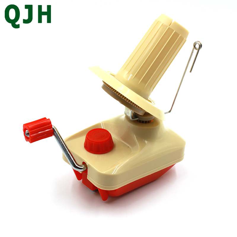 QJH Household Swift Yarn Fiber String Ball Wool Winder Holder Hand Operated Cable Needle Winding Machine For Sewing Accessories