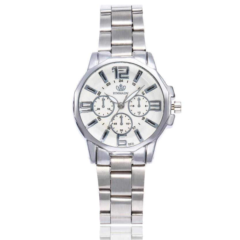Reloj de pulsera de cuarzo de lujo para mujer, reloj de pulsera de cuarzo de acero inoxidable a la moda, reloj de pulsera redondo para mujer, reloj de pulsera para mujer, superventas #302