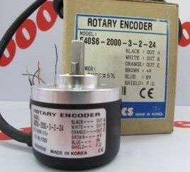 FREE SHIPPING E50S8-2500-3-T-24  encoder new original autonics autosics encoder e40s6 1024 3 t 24