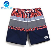 Gailang Brand Boardshorts Beach Trunks Plus Size Quick Drying Swimwear Men's