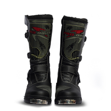 Motocross Racing Boots Shoes PRO-BIKER Leather Motorcycle Moto Motos Cross Off Road Dirt bike Botas Motorbike Shoes For Men/Wom