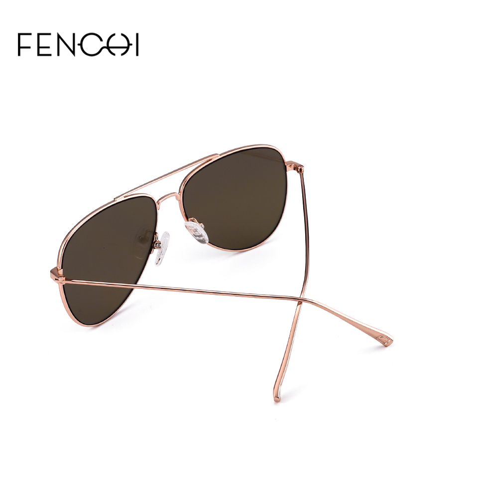 FENCHI Sunglasses Women Driving trendy pink vintage Sunglasses Brand Designer Glasses retro mirror lunettes de soleil pour femme in Women 39 s Sunglasses from Apparel Accessories