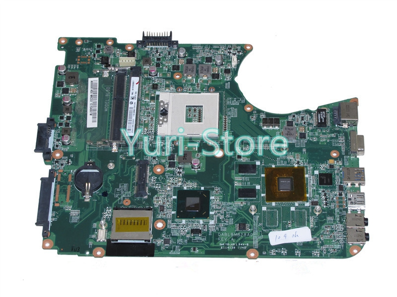 NOKOTION For Toshiba Satellite L750 L755 A000081450 DABLBMB28A0 REV A HM65 DDR3 GeForce Warranty 60 Days