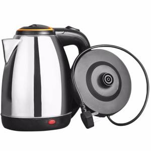 Electric-Kettle Waterkoker-Protection Automatic-Cut-Off-Jug Heating-Underpan Stainless-Steel