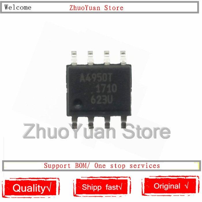1 Unids/lote A4950ELJTR-T A4950 A4950T SOP-8 Original Nuevo Chip IC