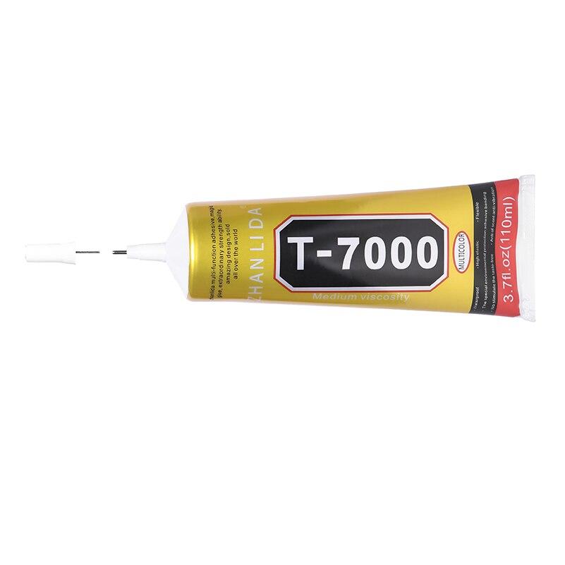 6Pcs 110ML T7000 Glue Epoxy Resin Super Black Adhesive T 7000 Metal Glass Wood Fabric Textile
