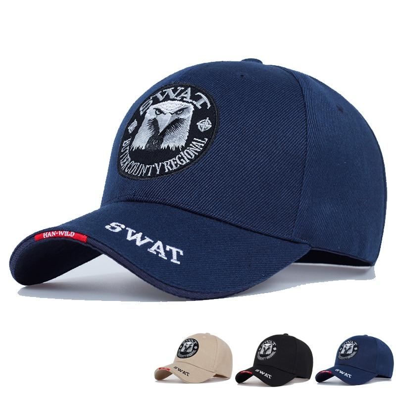 SWAT Army Cap Male Embroidered Eagle Black Baseball Caps Men Gorras Para Hombre Women Snapback Bone Masculino Tactical Cap