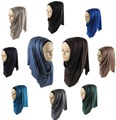 Free Shipping One Piece Glitter Hijab Scarves New Women Oversized Maxi Neck Scarf  Hijabs Soft Viscose Shawl Wraps 170*50cm