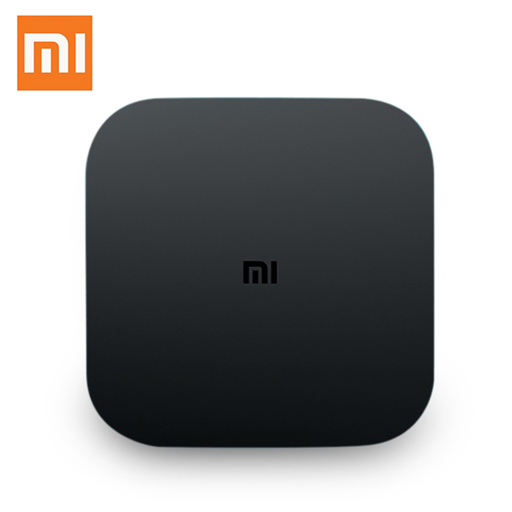 Original Xiaomi MI Smart TV Box Mi4C Amlogic S905L Android 5.0 Set Top Box 1G RAM 8G ROM 4K 2.4G Wifi Voice Control Media Player original xiaomi mi box tv box 4k quad core 3 android 6 0 2g 8g smart hdr movie set top box multi language netflix youtube google
