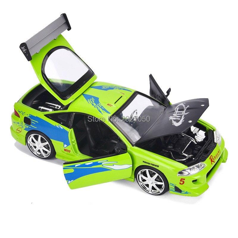 1:24 voitures de jouet modèle de course rapide en alliage furieux voiture jouets cadeaux pour enfants
