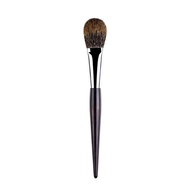 G047 pinceles de maquillaje profesional suave del pelo de la ardilla canadiense rubor brocha resaltador con mango de ébano pincel maquiagem brocha de maquillaje