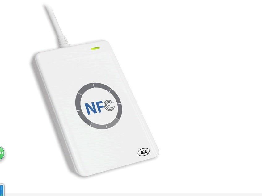 Nouveau NFC ACR122U intelligente Sans Contact RFID Lecteur et Graveur/USB avec 5 xMifare IC Carte