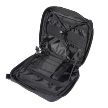 цена 1000D Nylon Tactical Molle Medical Pouch EDC Organizer Wear-resistant Waist Pack Military Hunting Travel Survival First Aid Kit