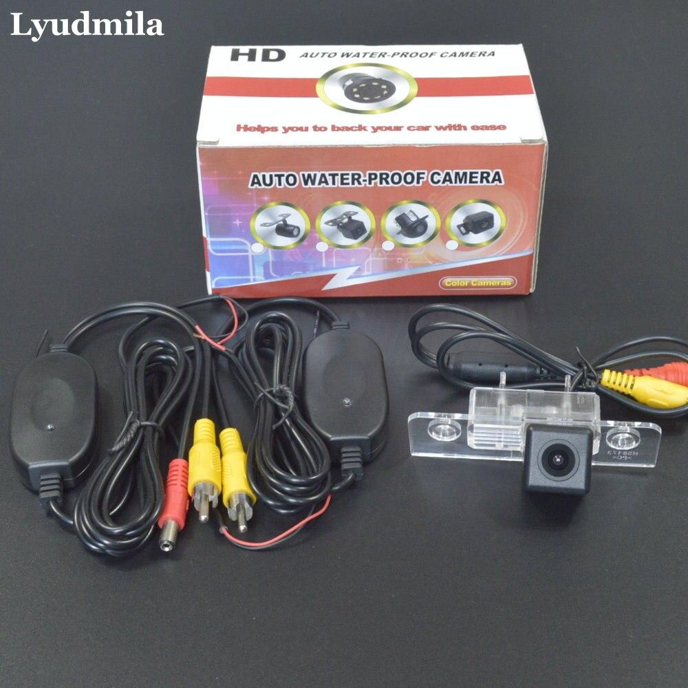 Lyudmila Wireless Back up Camera For Skoda Octavia 1U MK1 1Z Laura MK2 1996~2014 Car Rear view Camera HD CCD Night Vision