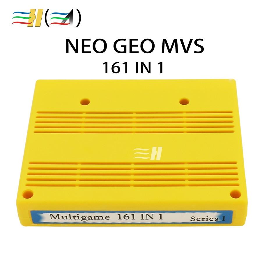 161 in 1 Cartridge Motherboard 161 in 1 MVS Cart NEO GEO MVS Multi Cartridge Cassette Jamma gameboy cartridge arcade(China)