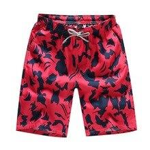 MJARTORIA 2019 Beach Shorts Trunks Men Summer Print Quick Dry Kilt Sportwear Short Bottom Male Surfing Boardshorts Shorts