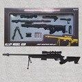 Alloy gun no function children's toy gun Assembled toy Metal alloy gun Display model sniper rifle