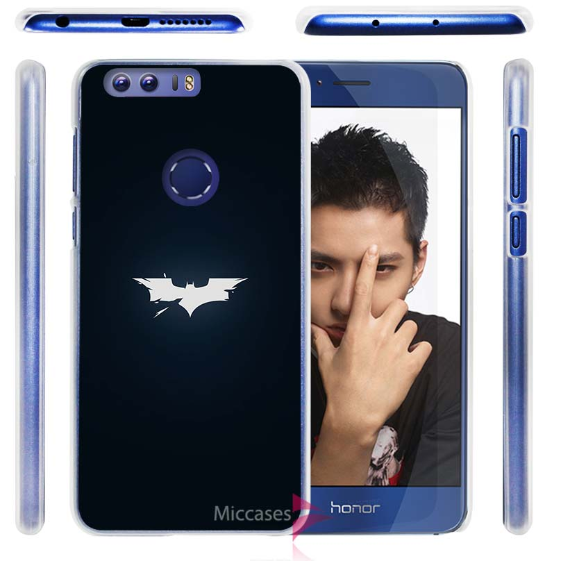 batman <font><b>dark</b></font> <font><b>shattered</b></font> Hard Clear Case Cover for Huawei Honor P6 P7 P8 Lite P9 Mate S 6 7 8 V8 G7 Plus