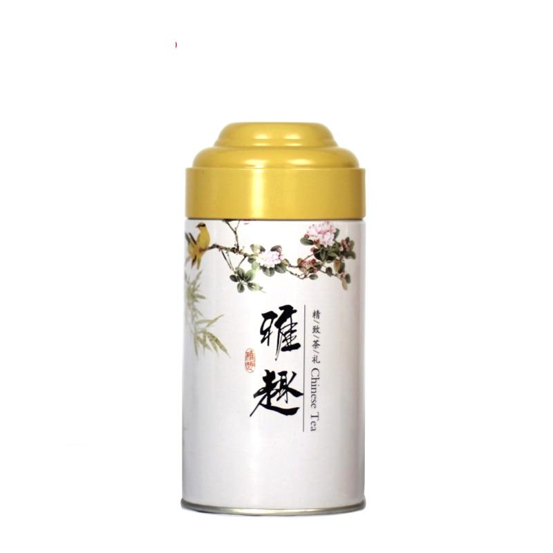 2018 Hot Tea Round Tin Box Double Lids Candy Jewelery Storage Container Sundries Organizer Decorative Gift Packing Iron Box