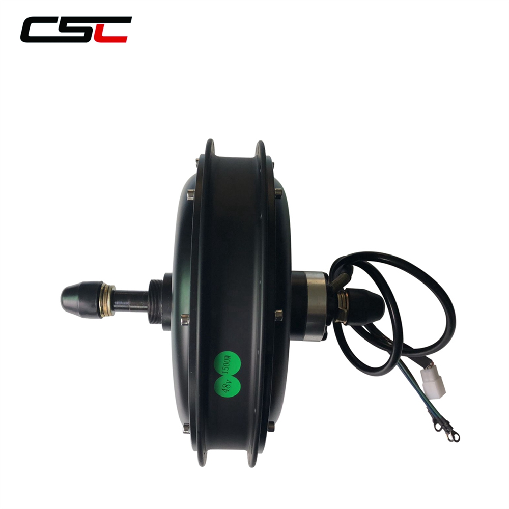 48V Electric Bike Brushless Non Gear Hub Motor 500W 750W 1000W 1500W eBike Snow Fat Bicycle