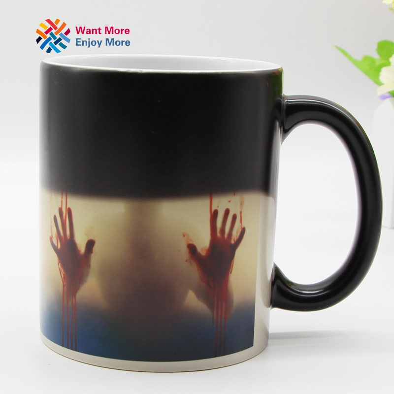 Color Changing Heat Sensitive Ceramic Coffee Mug 2