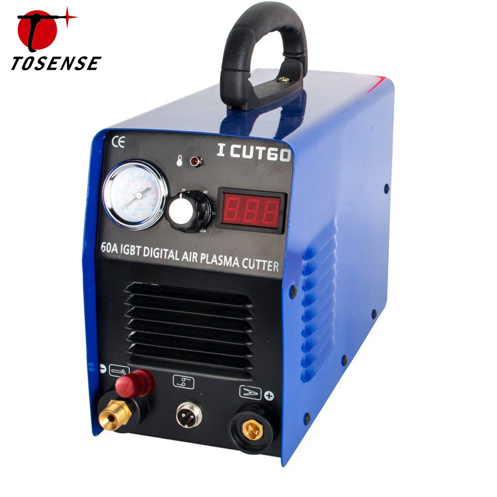 Nouvelle Usine Vente Directe Plasma Machine De Découpe ICUT60P 220 V Unique 60A IGBT Avec WSD60P Consommables Fit Coupe Torche Livraison Post