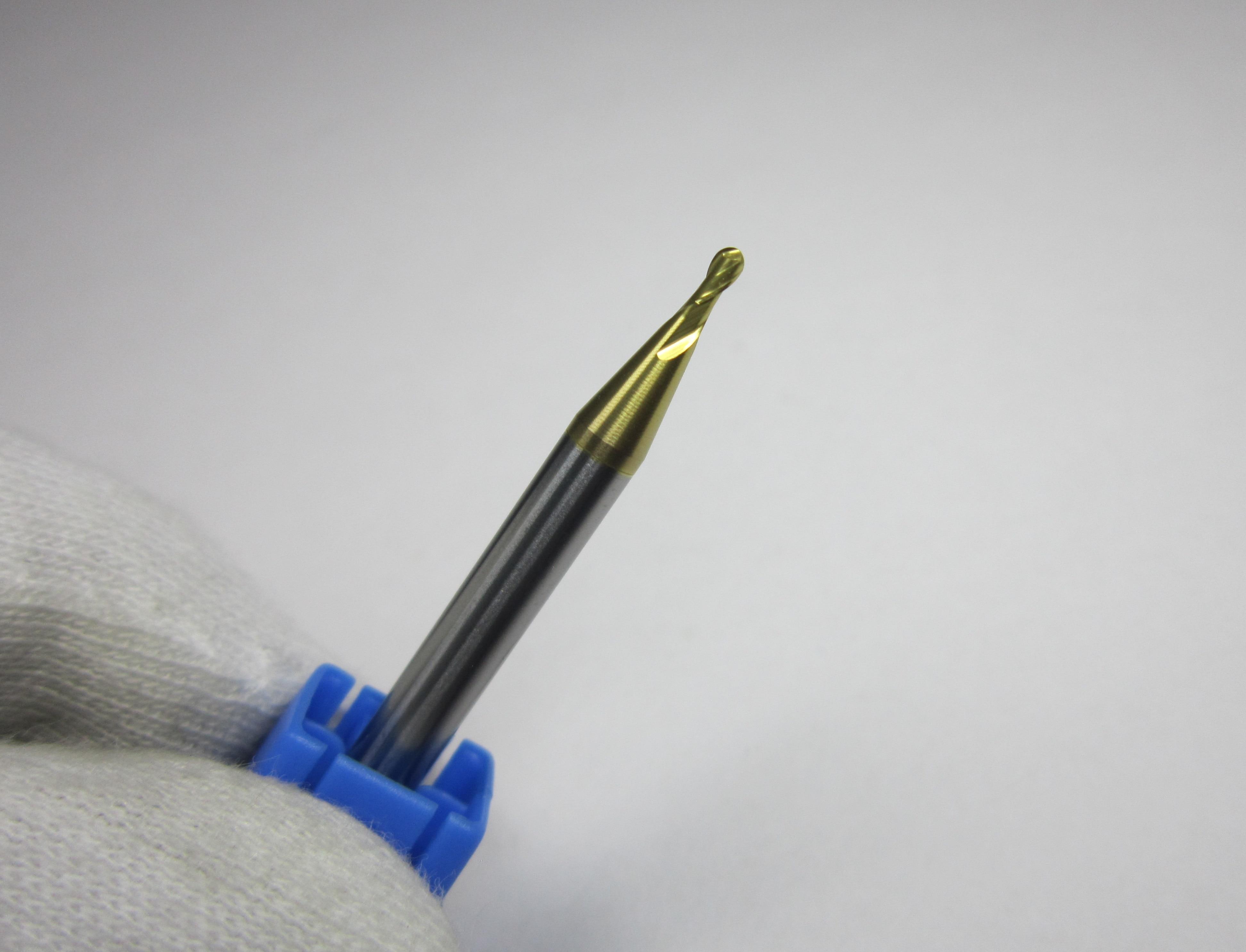 Ø 4mm R2.0 HRC58 Carbide Ball Nose End Mills milling cutter finishing metalwork