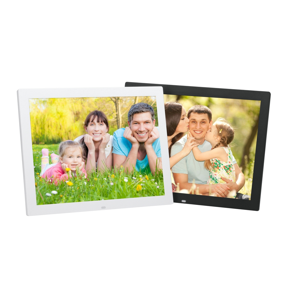 15inche Digital Photo Frame Electronic 1280*800 Digitization Picture Album Support HD Screens for Advertising Machine with Music 2015 new 7 inch digital photo frame ultra thin hd photo album lcd advertising machine