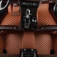 Flash mat leather car floor mats for Toyota Corolla Camry Rav4 Auris Prius Yalis Avensis Alphard 4Runner Hilux highlander foot