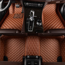פלאש מחצלת עור רכב רצפת מחצלות עבור טויוטה קורולה קאמרי Rav4 Auris פריוס Yalis Avensis Alphard 4 ראנר Hilux הנצח רגל