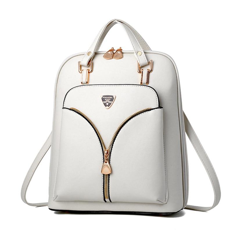 HTB1H1BmucyYBuNkSnfoq6AWgVXam Nevenka Anti Theft Leather Backpack Women Mini Backpacks Female Travel Backpack for Girls School Backpacks Ladies Black Bag 2018