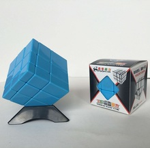 Newest Shengshou Mirror Cube 3x3 Cube Magic Puzzle Pink and Blue Speed Cube Plastic Cube Toys