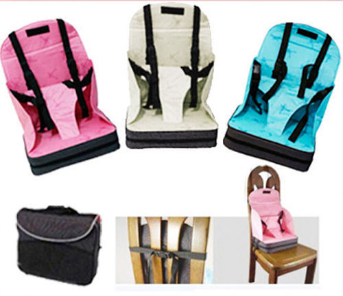 Portable High Chair Booster Heated Camping Baby Seat Travel Light Weight Foldable Easy Carry