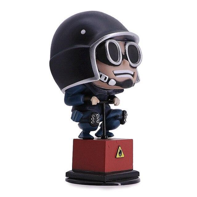 Rainbow Six Cerco Figura Thermite 10 cm Figura de Ação Brinquedos Quente Desktop Decor