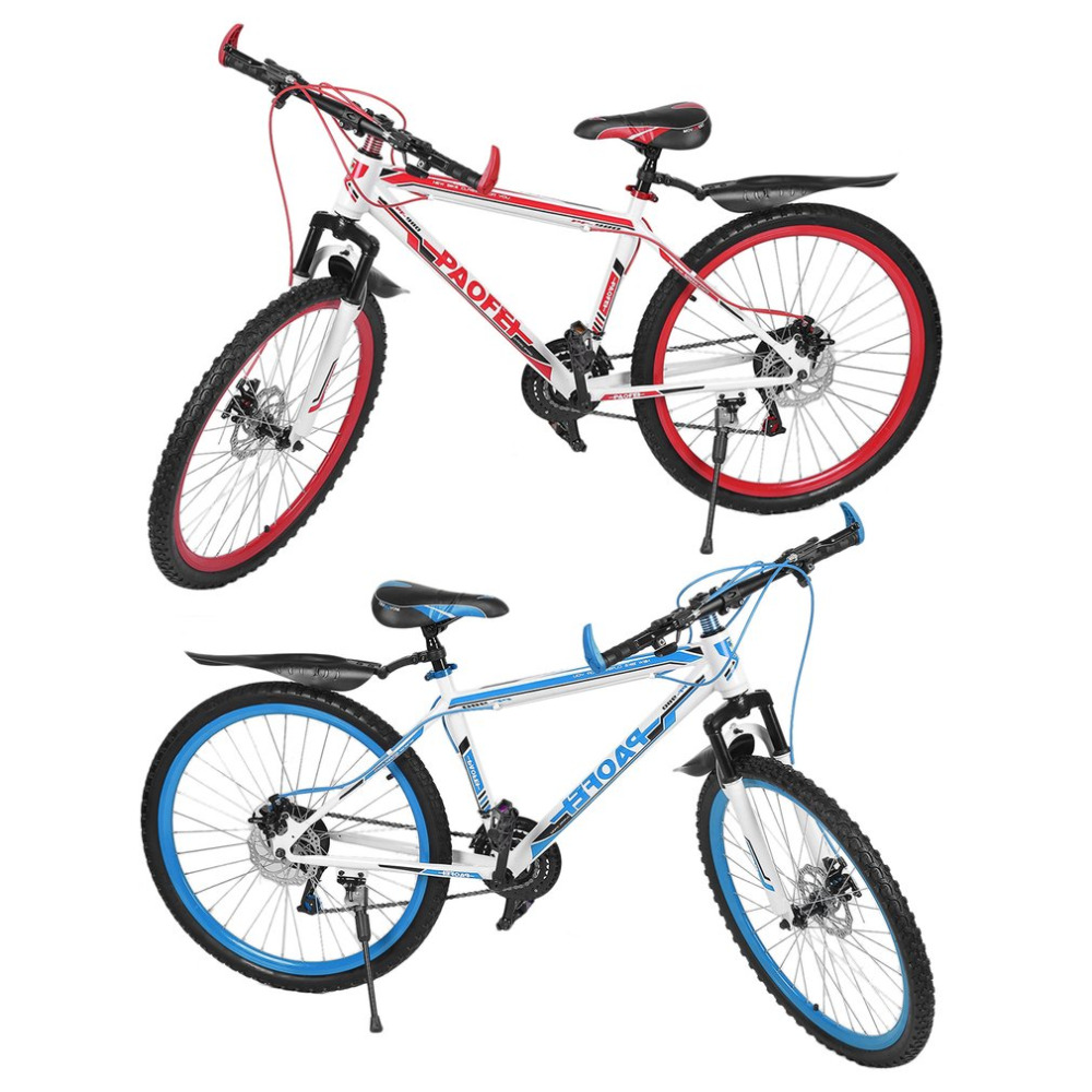 New 26 Inch X17 Inch Front And Rear Disc Bike 30 Circle Mountain Bike Variable Speed MTB Road Racing Bicycle Good quality