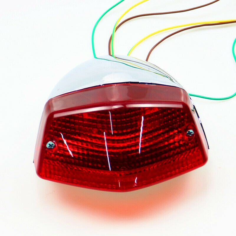 Rear Integrated Brake Tail Light For Honda Steed VLX400 95-97 VLX600 89-96 VT600
