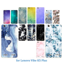 Phone Cases for Lenovo Vibe K5 Coque K5 Plus Lemon 3 A6020 Bag Color Stone Pattern Soft TPU Silicon For Lenovo A 6020 Back Cover(China)